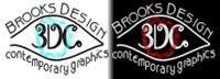 Brooks Design-Contemporary Graphics Logo LR2
